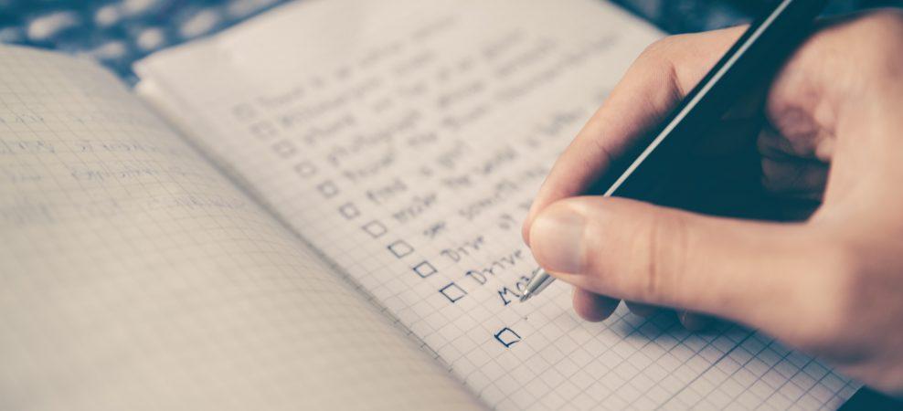 不動産投資を始めるまでの流れ「チェックリスト」